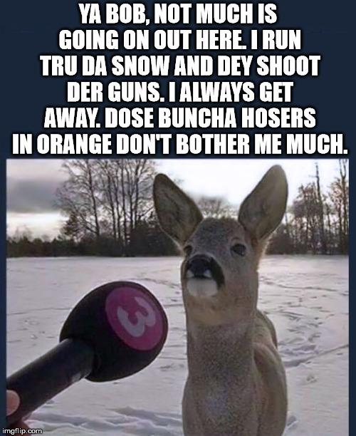 Hosers in orange - meme