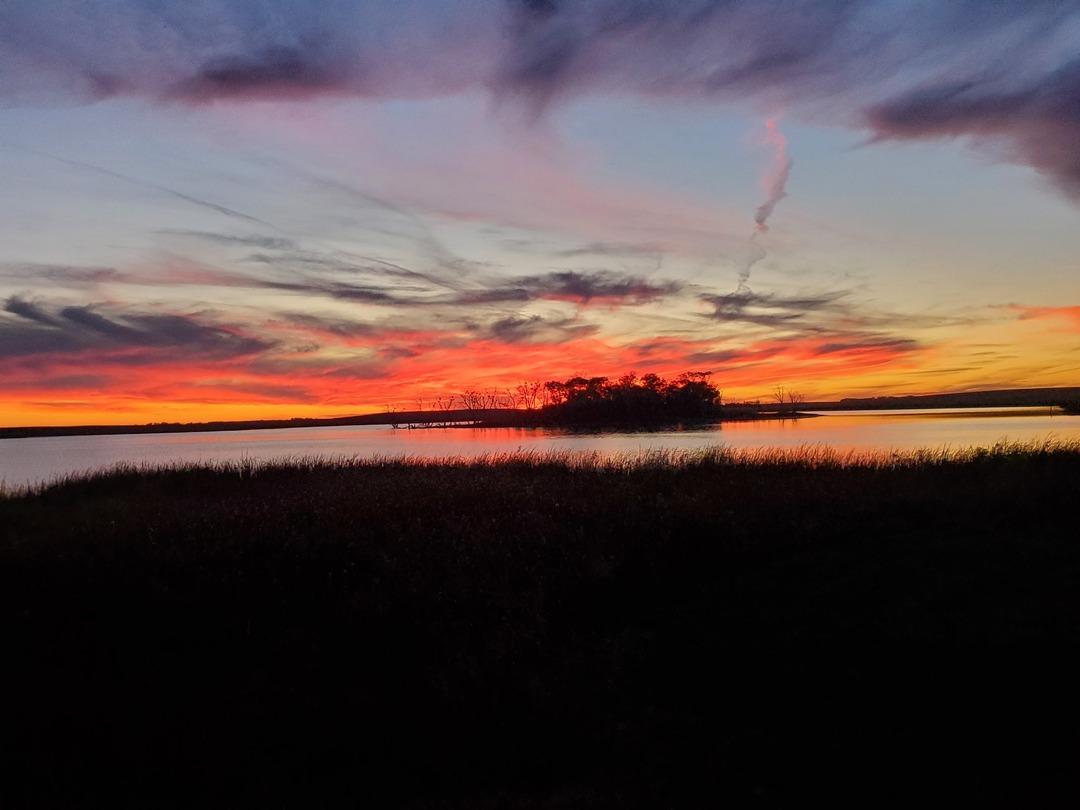 Beautiful sunset :) - meme