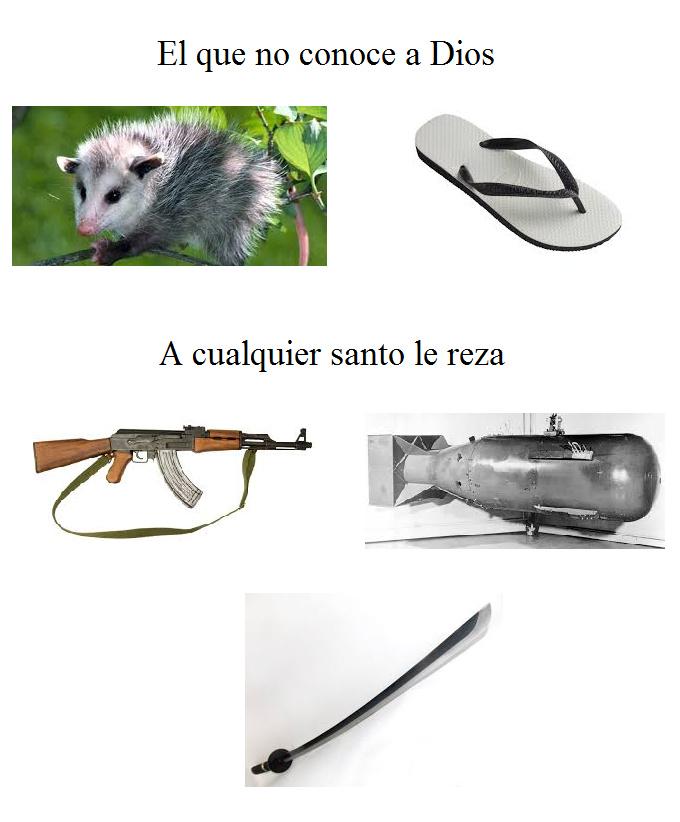 armas letales - meme