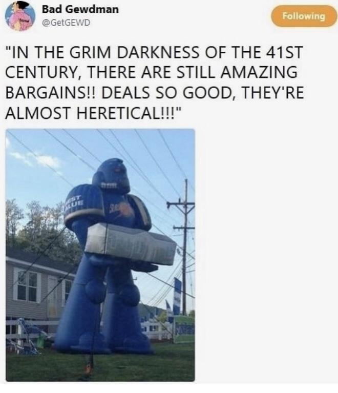 the death of Horus < these deals - meme