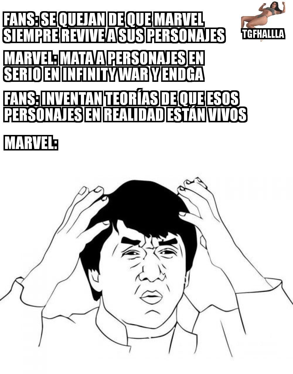 De las cosas que odio de los fans de Marvel :betterthan: - meme