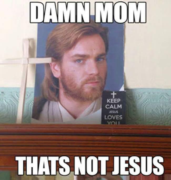 Star Jesus - meme