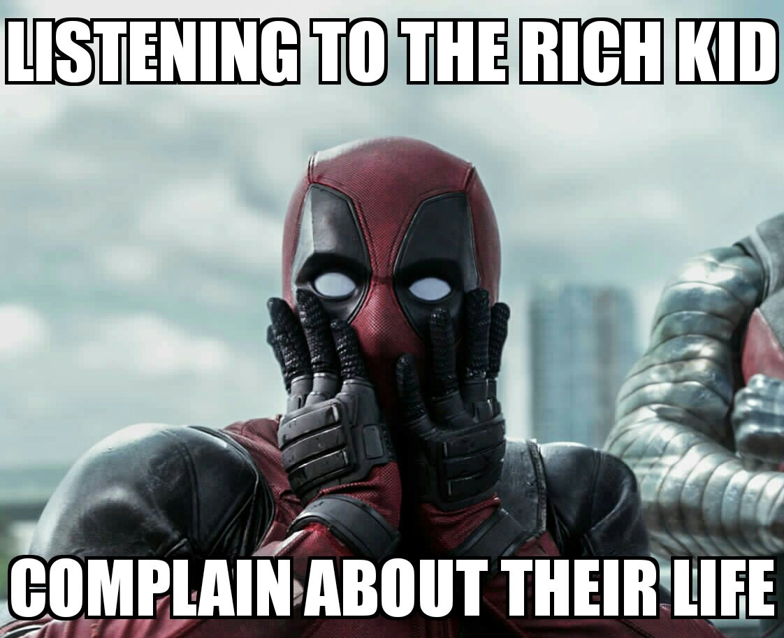 Deadpool Sarcasm - meme