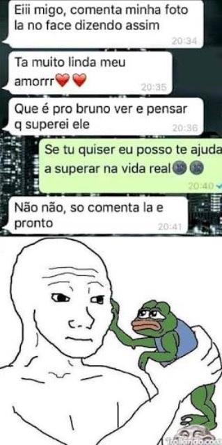 :feels: (se for repost n passa) - meme