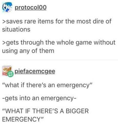 Any rpg game ever - meme