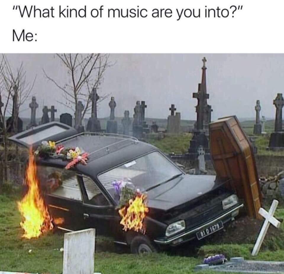 Thrash or die - meme