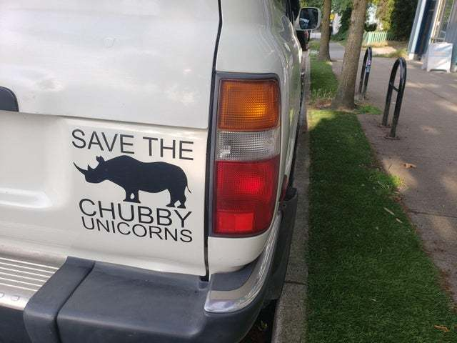 Save the chubby unicorns - meme