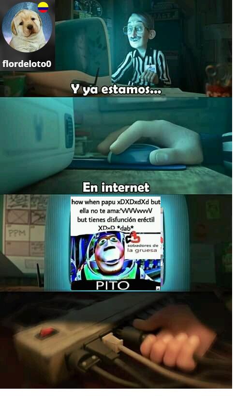 ya estamos en internet - meme