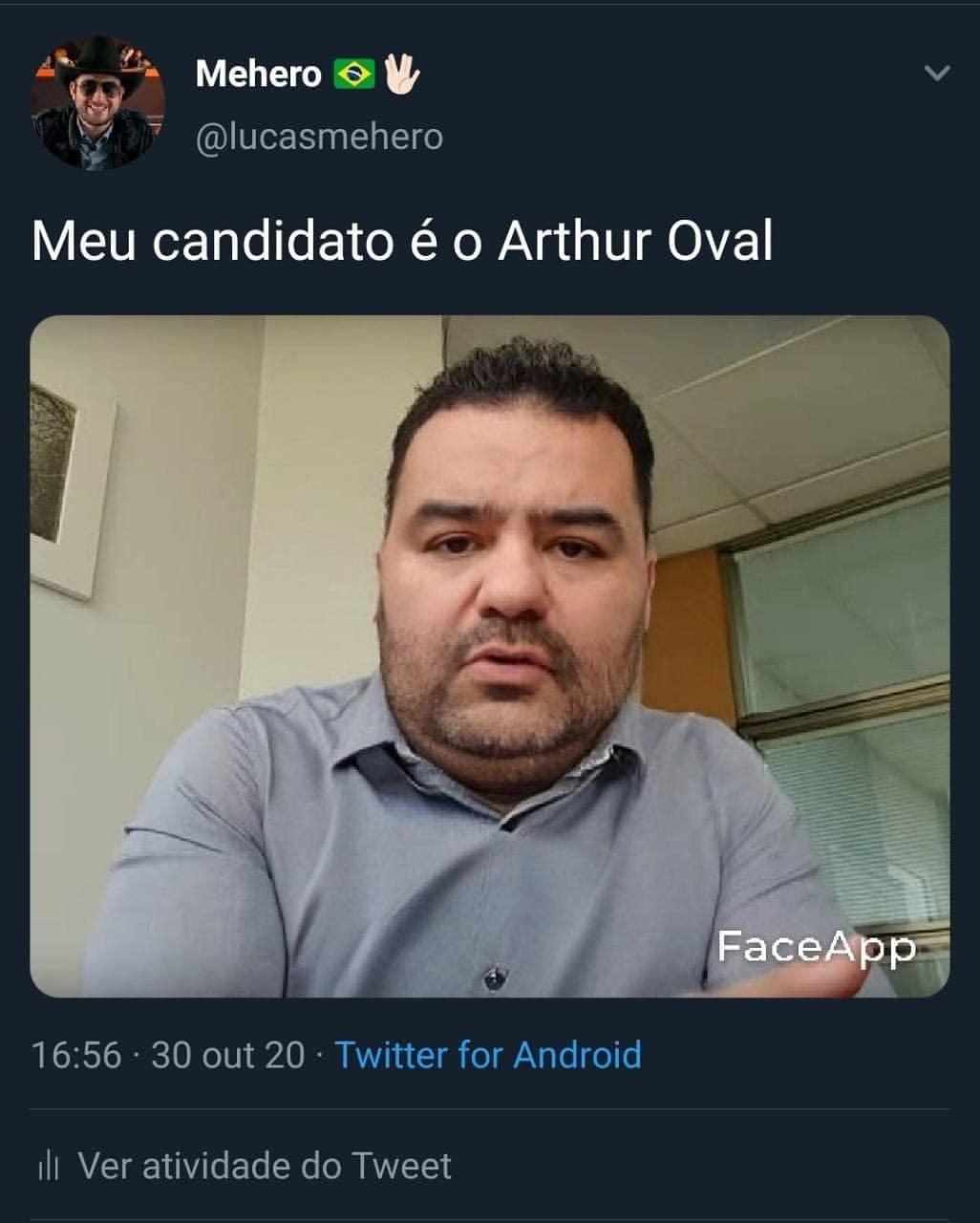 Arthur Moledo Oval - meme