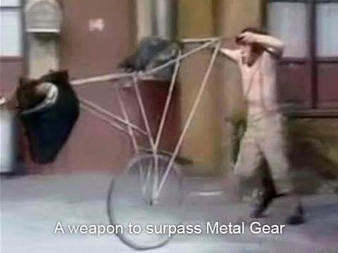 A weapon to surpass barril do chavis - meme