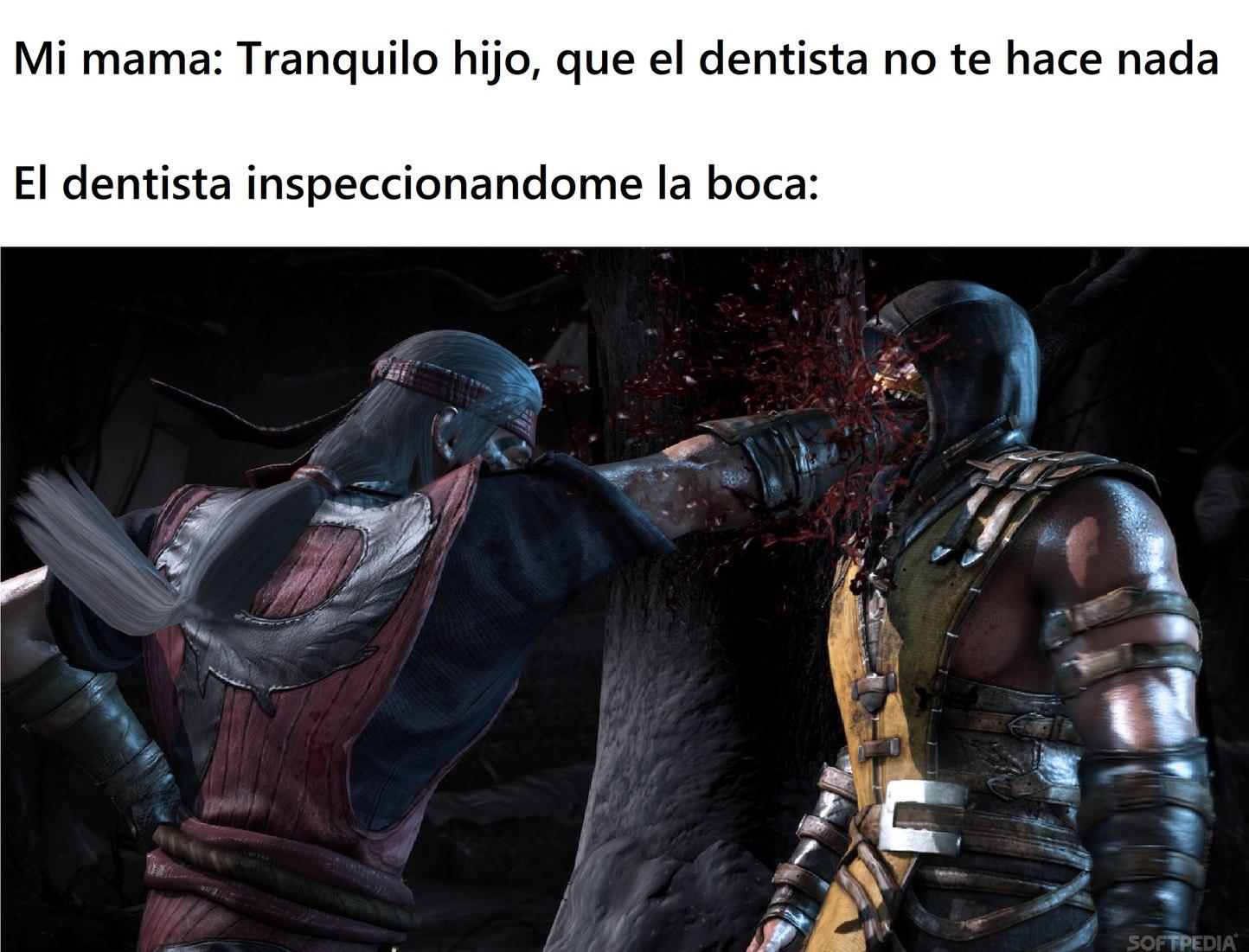 el dentista: - meme