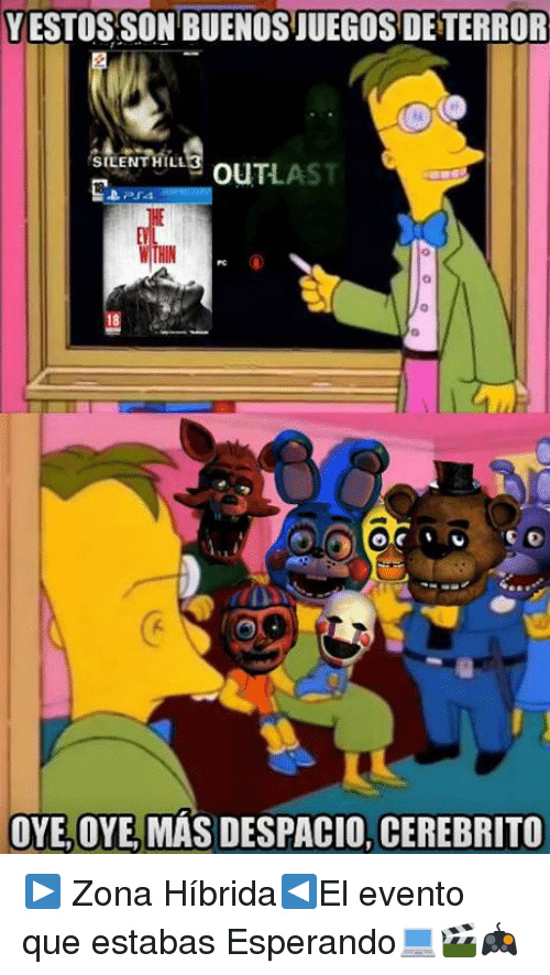 solo falta fnaf - meme