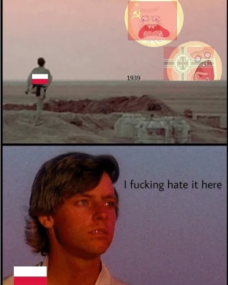 poor Poland - meme