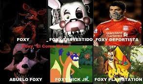 Foxy in the foxy verse - meme