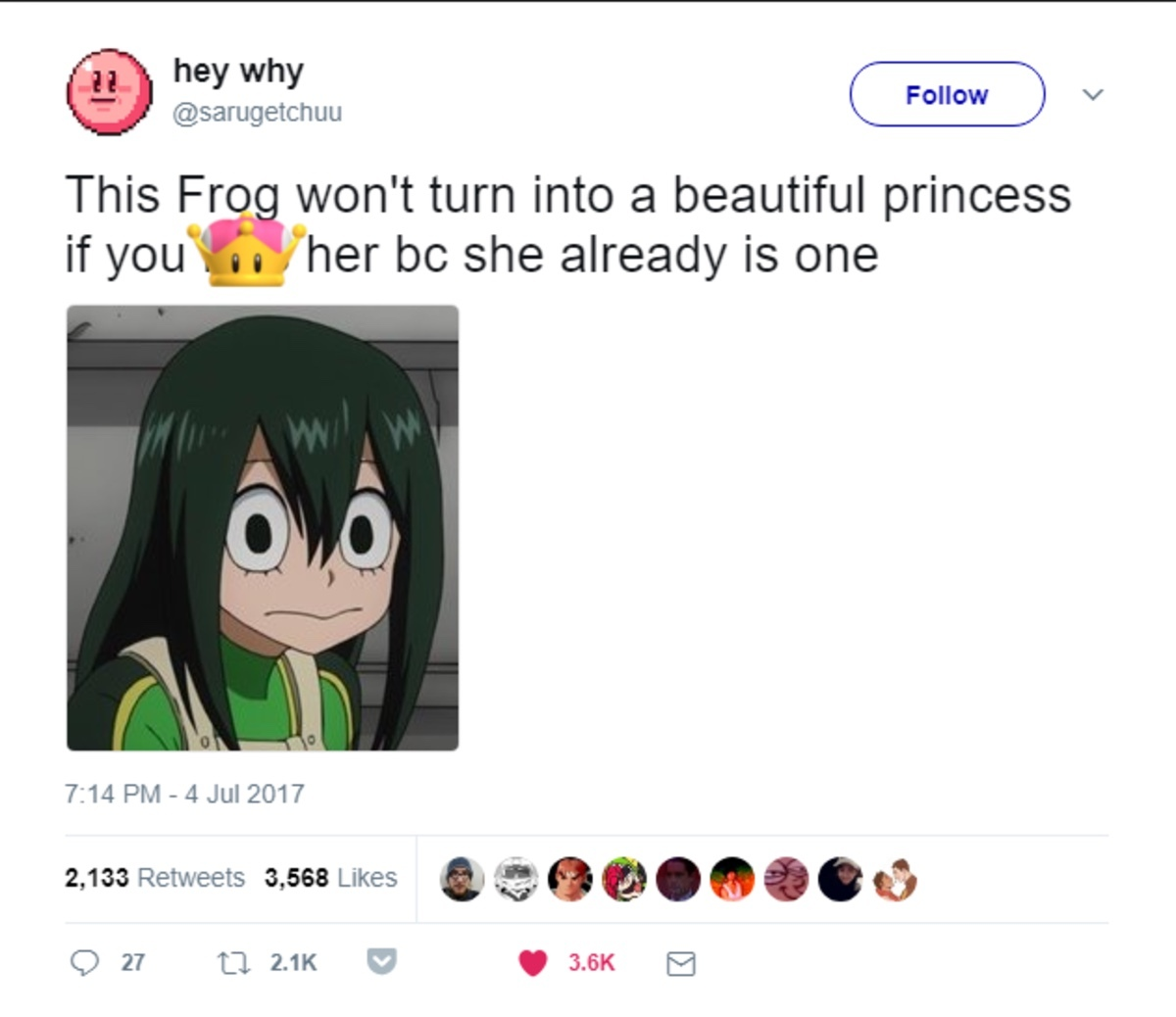 dont lewd the frog - meme
