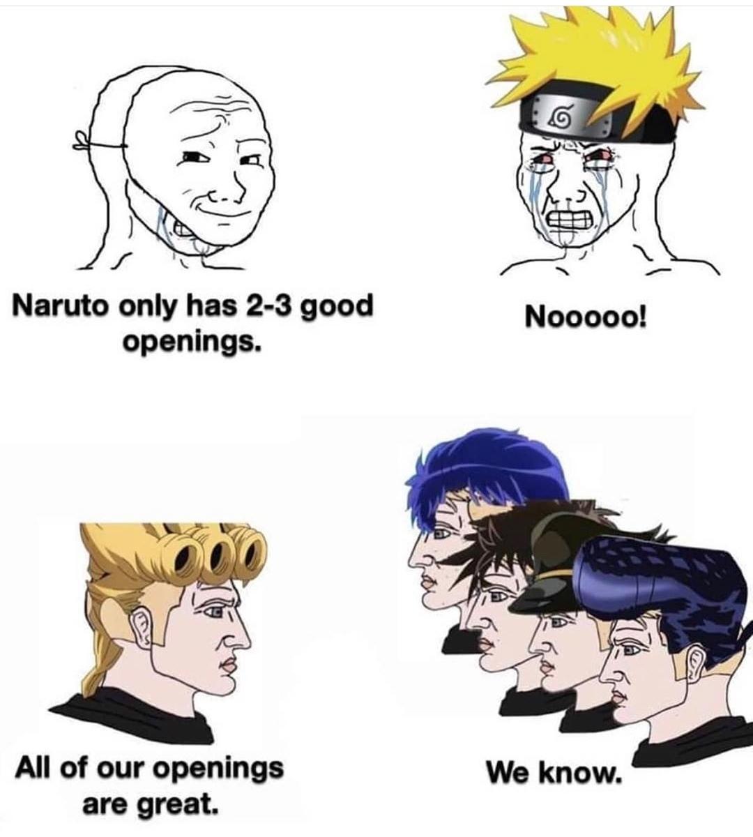 Jojo ops are the best. - meme