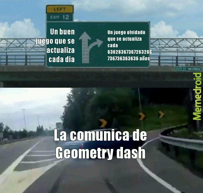 Geometry dash - meme