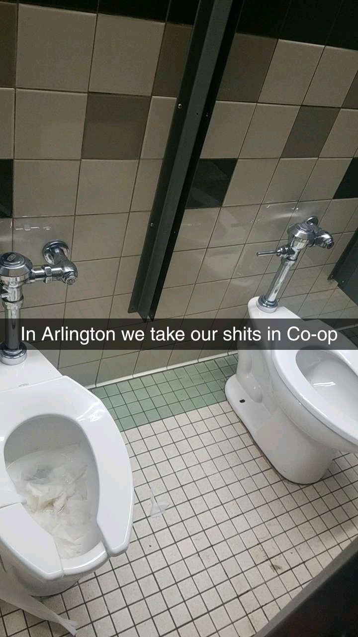 My school is a shit show - meme