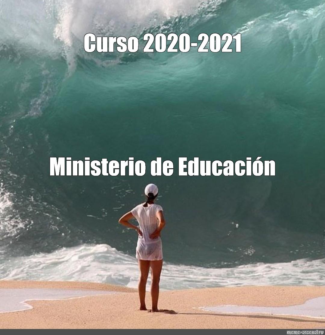 Curso este 2020-2021 - meme