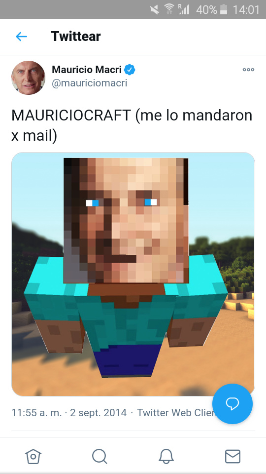 MauricioCraft - meme