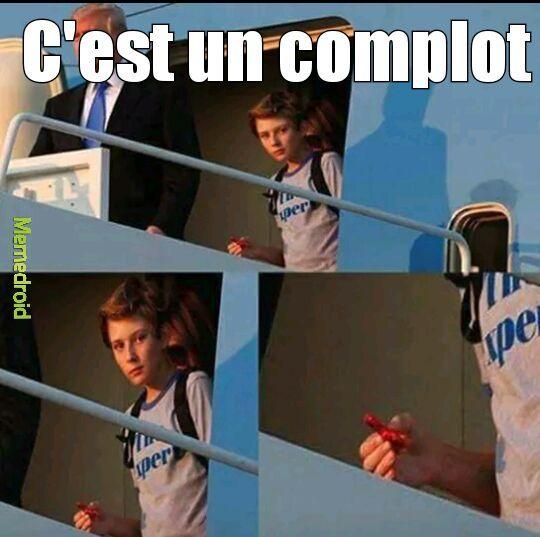 MÊME LE FILS DE TRUMP #COMPLOT - meme