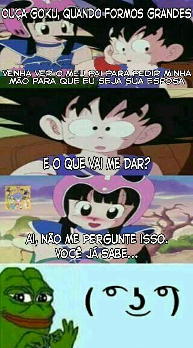 Porra, Goku - meme