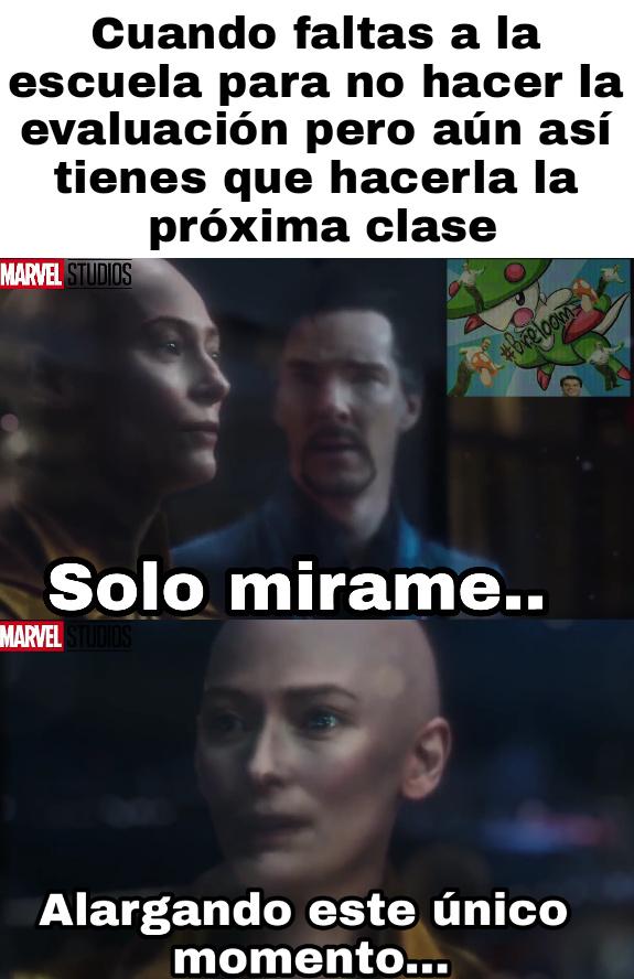 """Ya sé que no queda bien el """"Marvel Studios"""" pero es que.. ¡NO TENÍA ELECCIÓN! - meme"""