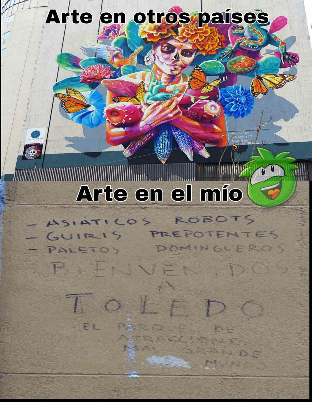 En mi pueblo nació P. Picasso - meme