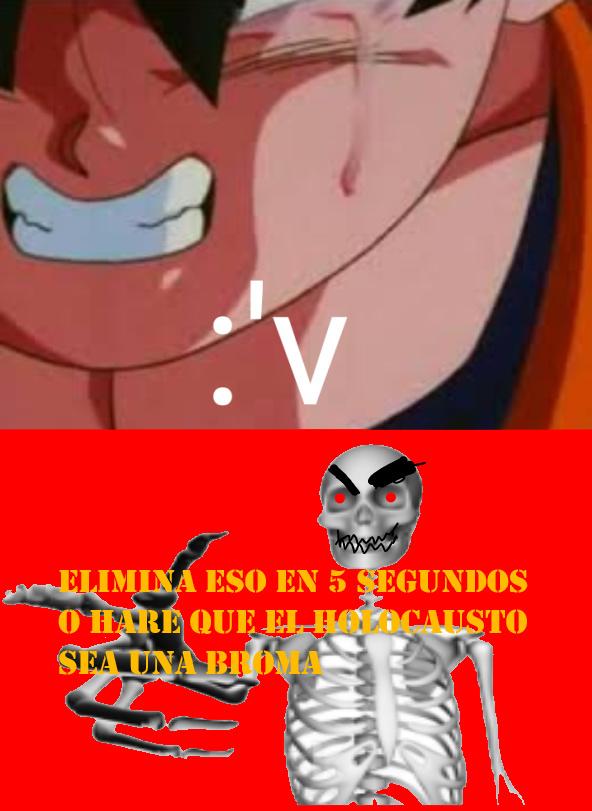 Venezolano enfadado - meme