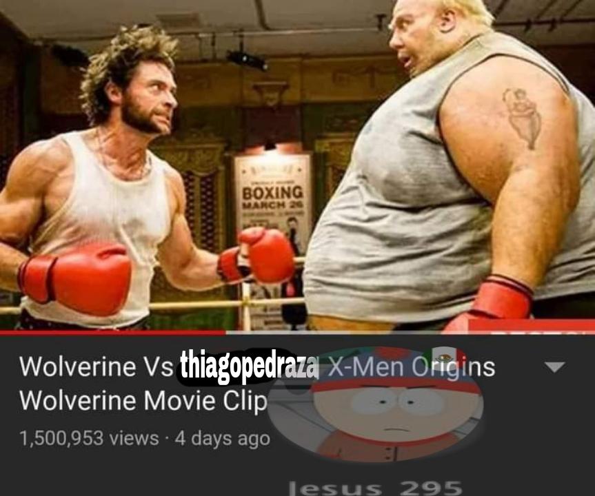 Wolverine vs el autor :pukecereal: - meme