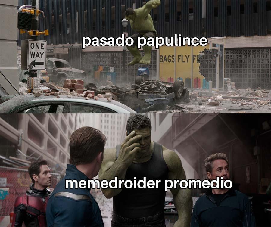 Pasado oscuro - meme