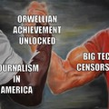 Language Distortion and De-Platforming For Thoughtcrimes Are The New Normal....