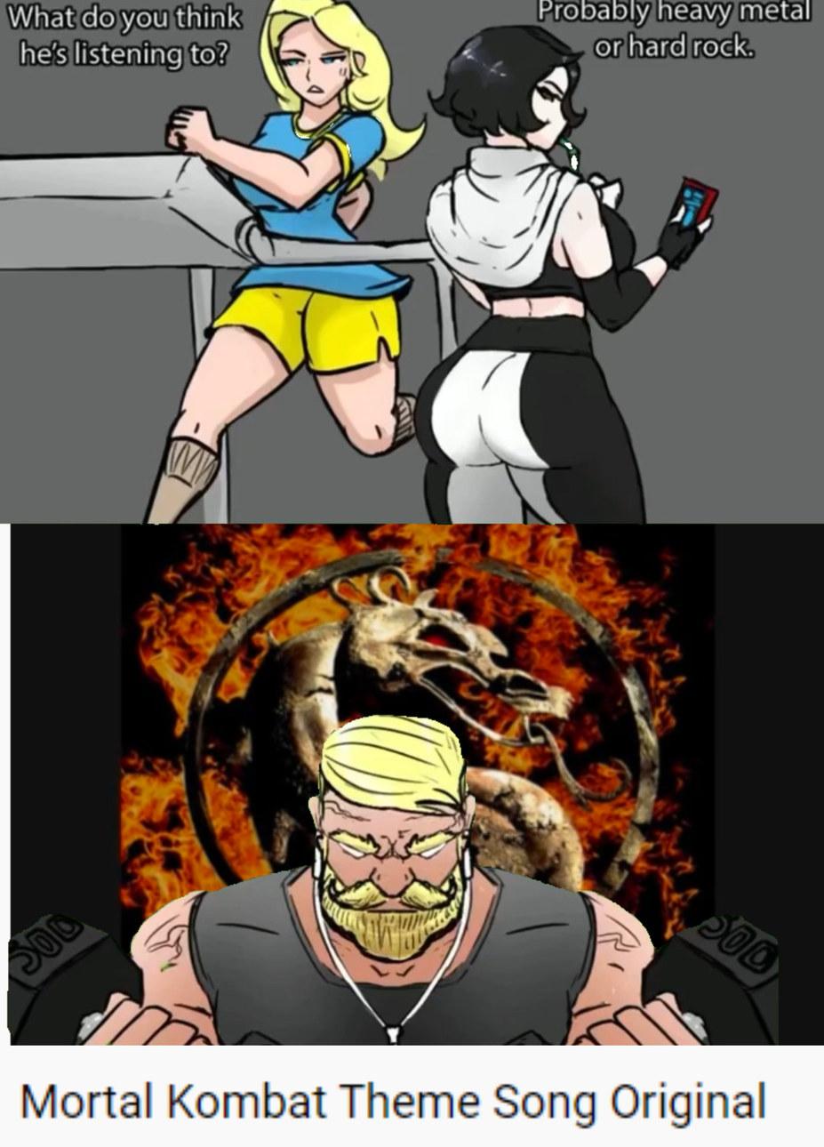 MORTAL KOMBAT!!! - meme