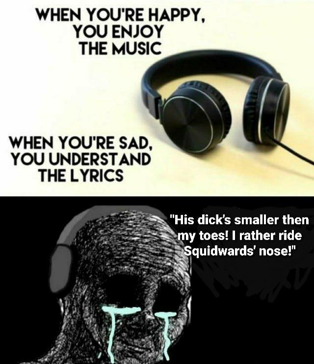 Feel the music pt2 - meme