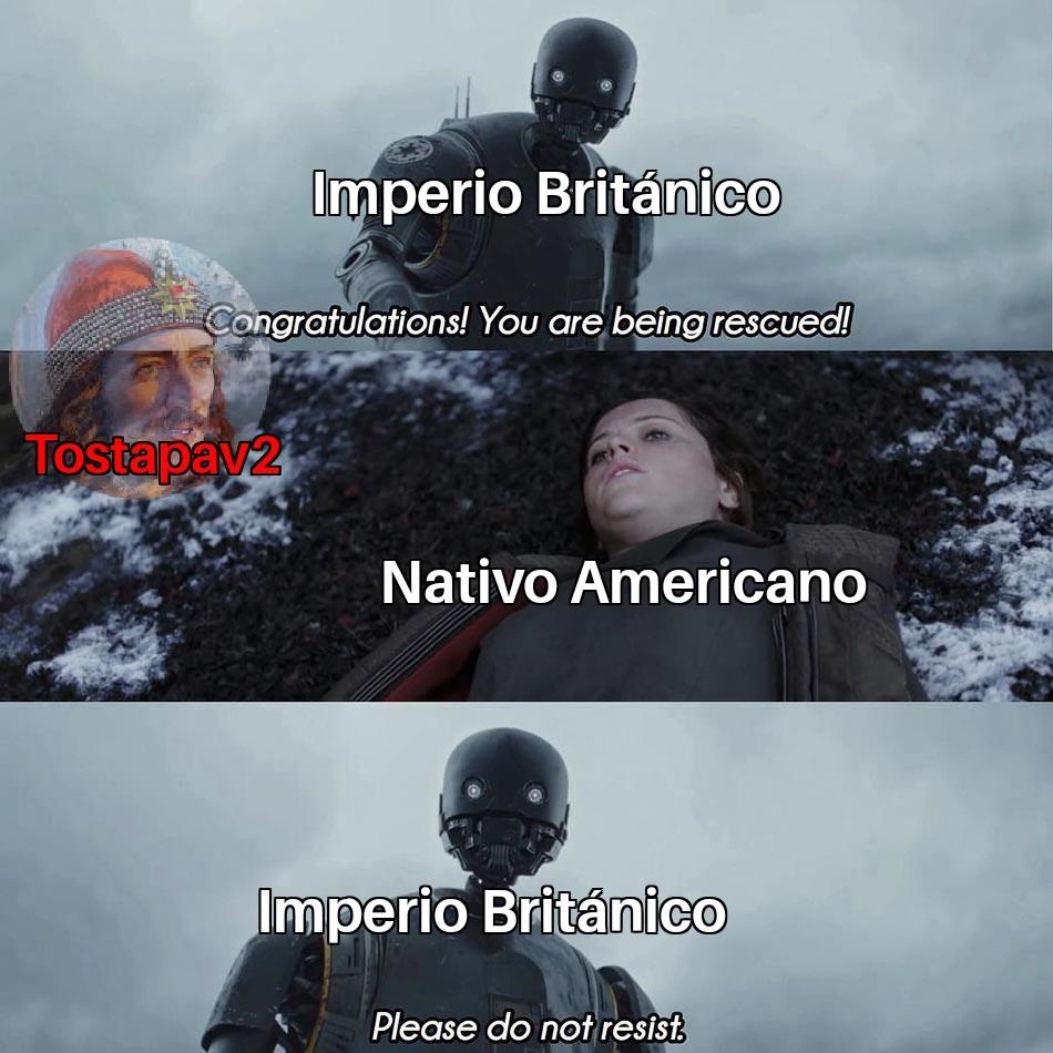 Imperio Británico - meme