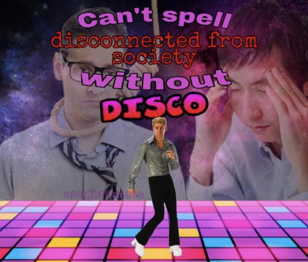 Disco time - meme