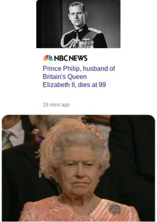She outlived him too - meme