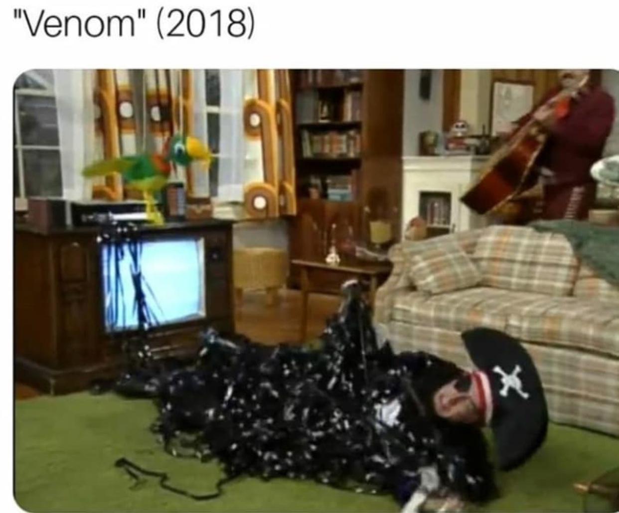 new venom movie looks sick - meme