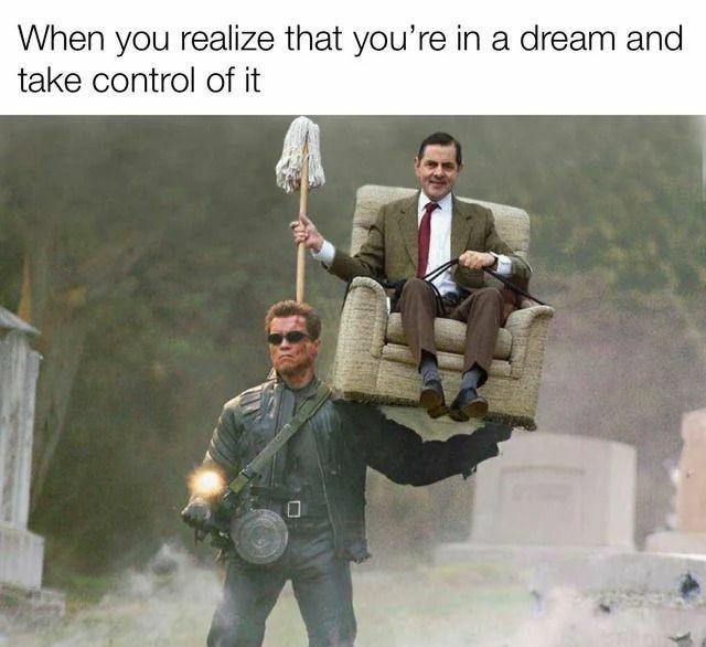 That would be my dream, probably - meme