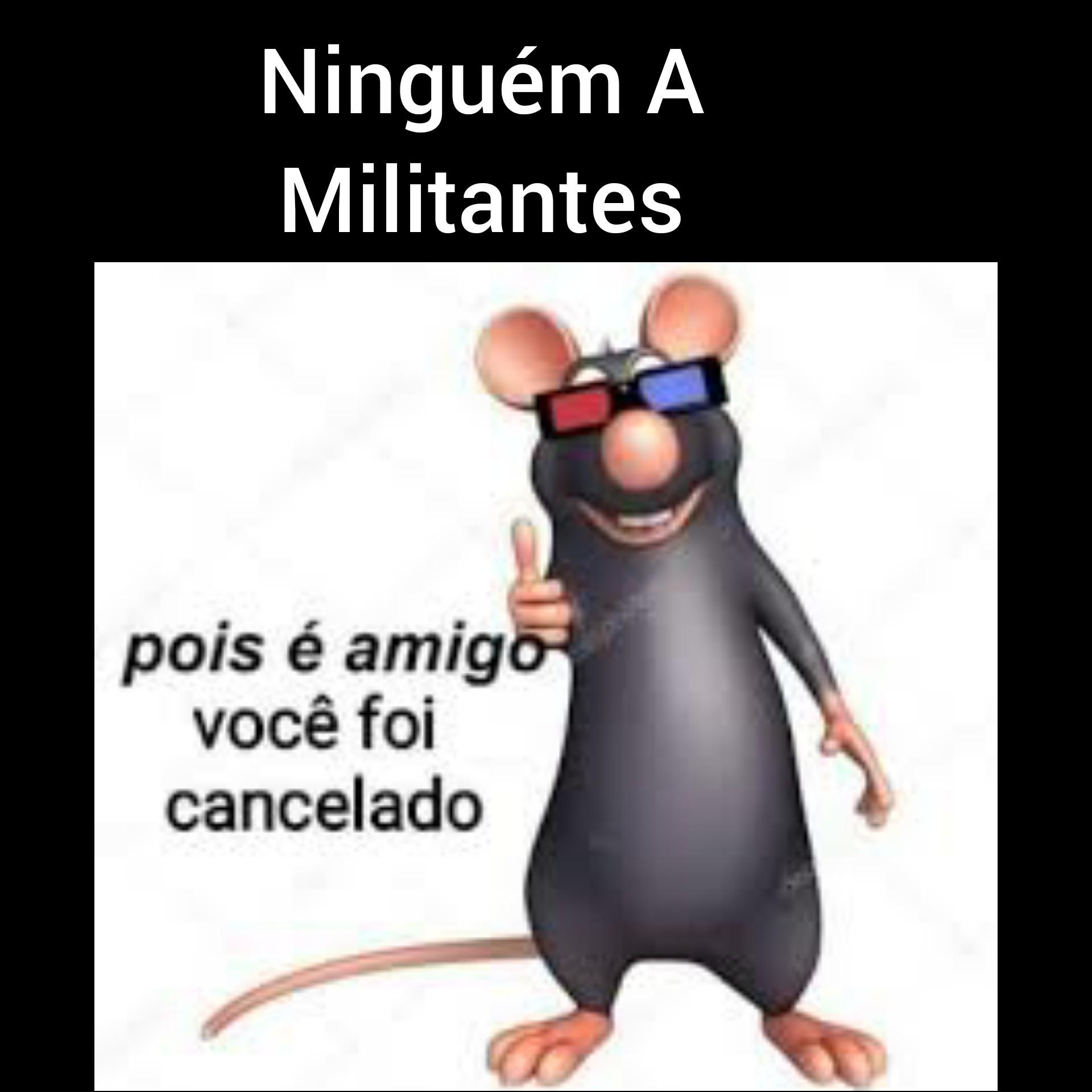 VOCÊ FOI CANCELADO - meme