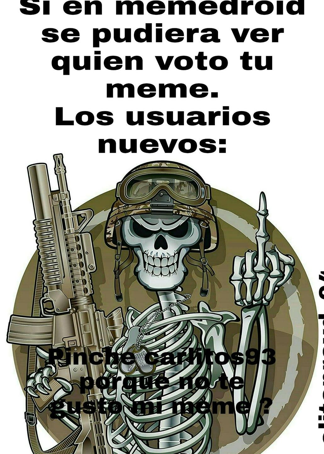 El titulo se fue a matar a carlitos93 - meme