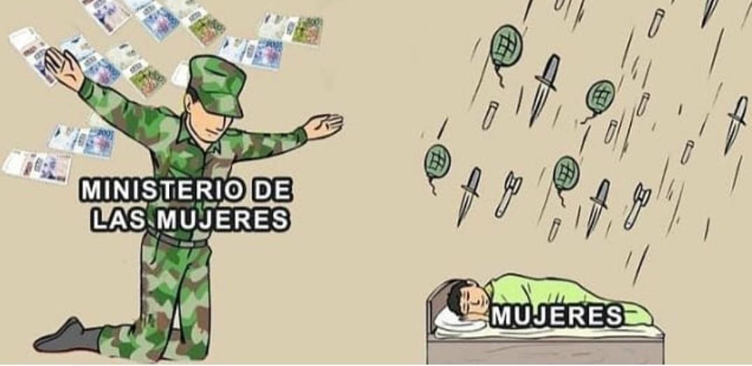 """Ministerio de """"Igualdad"""" de España - meme"""