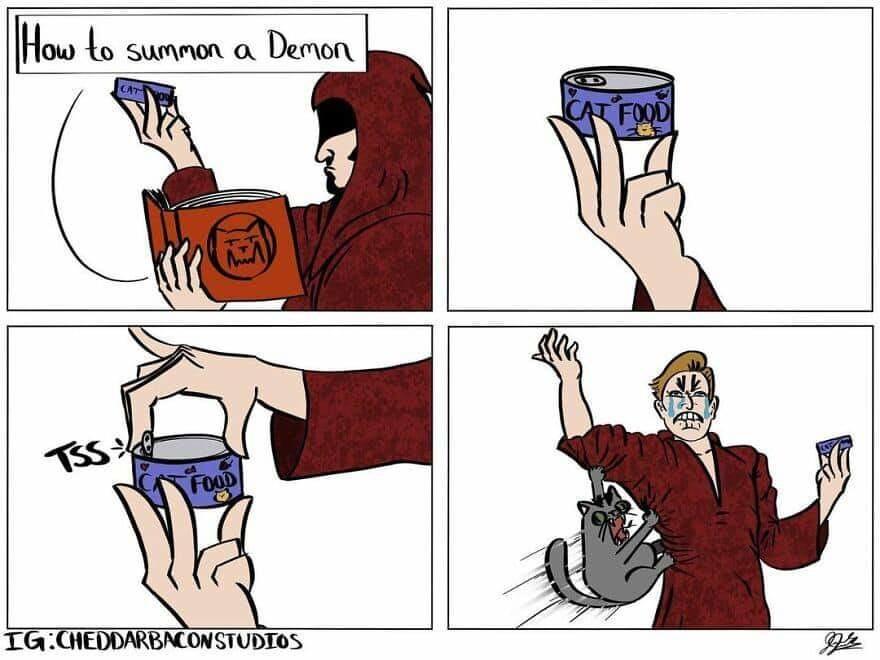 Demon Summoning 101 - meme