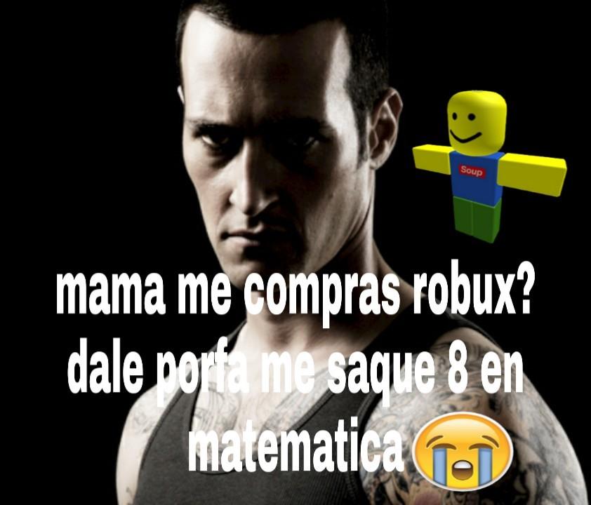 Dame robux - meme