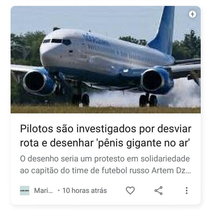 pênis de avião - meme