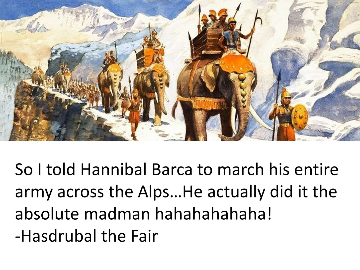 Must Have Been the Strangest Parade Europe Had Ever Seen..... - meme