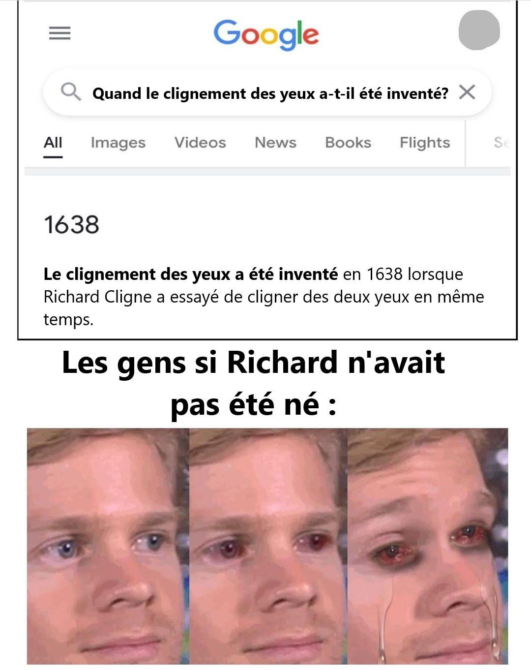 Merci Richard - meme