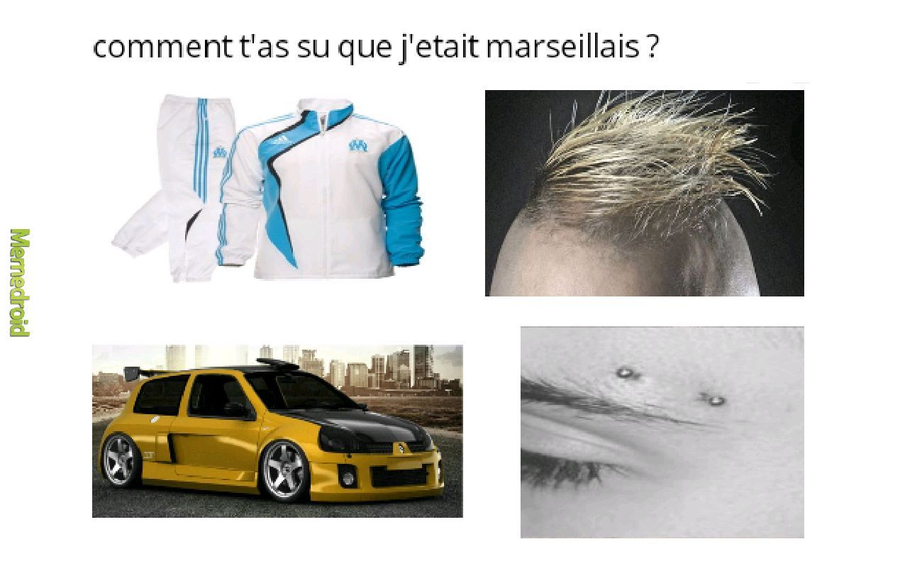 Les marseillais - meme