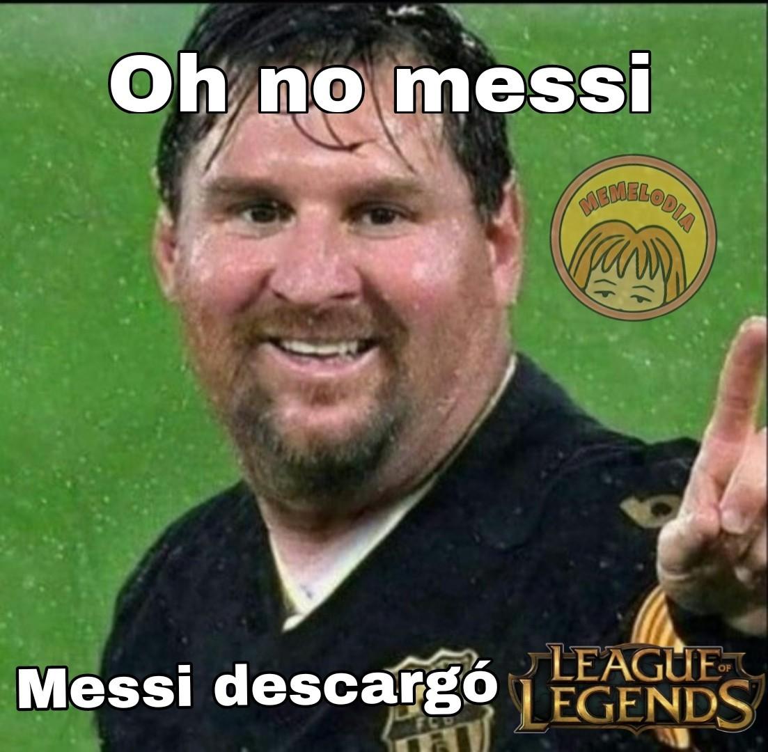 Messi gordo - meme