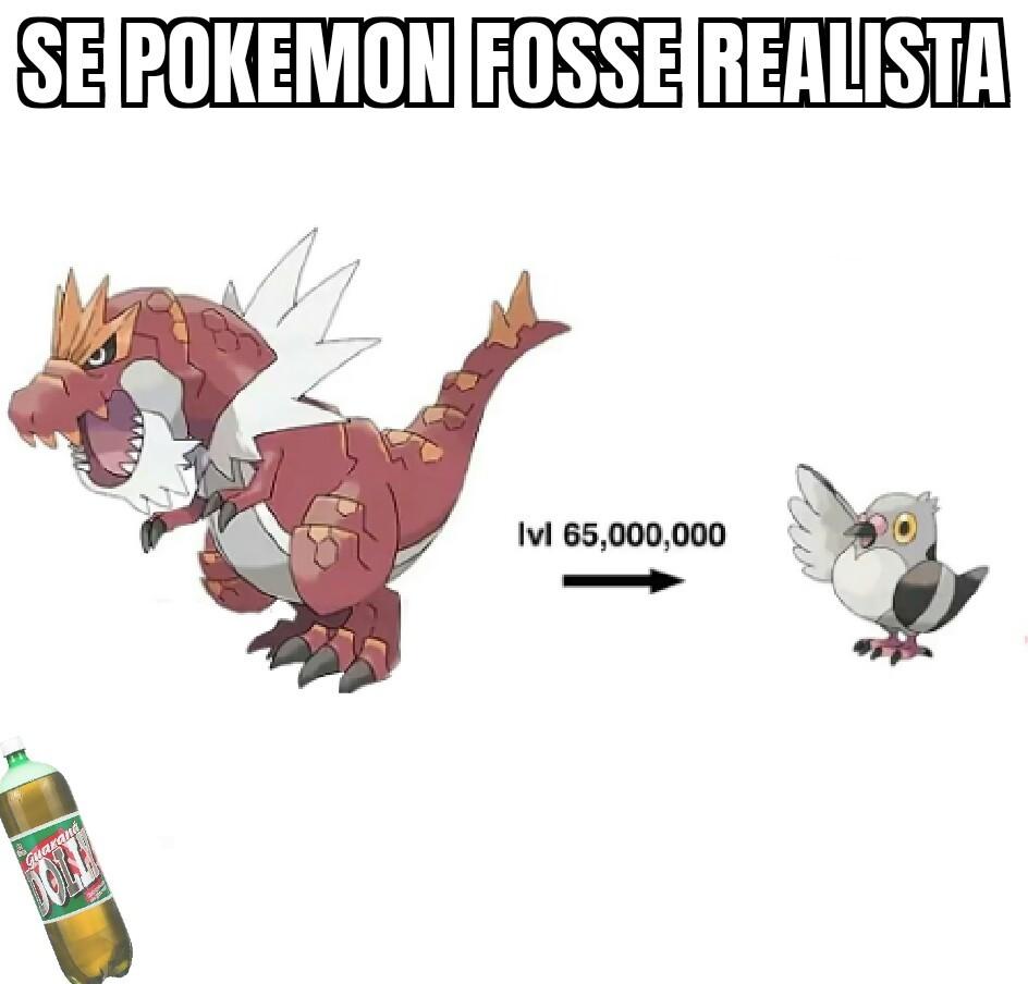 Evolução de realista - meme